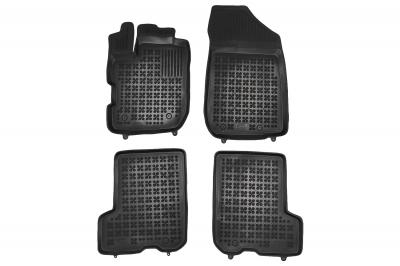 Covorase Presuri Auto Negru din Cauciuc pentru Dacia Dacia Sandero II Stepway 4x4 (2019+)